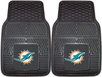 Fanmats FANMATS 2-pk. Miami Dolphins Car Floor Mats