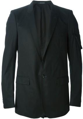 Nicolas Andreas Taralis zip pocket detail blazer