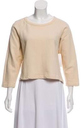 Dries Van Noten High-Low Long Sleeve Sweatshirt
