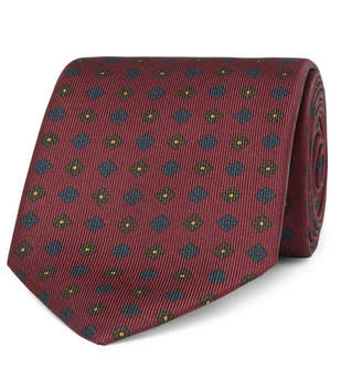 Drakes Drake's 8cm Printed Silk Tie