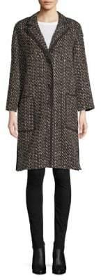 Agnona Tweed Coat