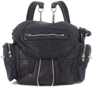 Alexander Wang Mini Marti Black Leather Backpack