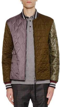 Lanvin Teddy Quilted Matelasse Jacket
