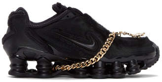 Comme des Garcons Black Nike Edition CDG Shox TL Sneakers