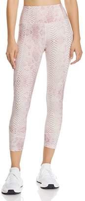 Bloomingdale's Varley Kensington Snake Print Cropped Leggings
