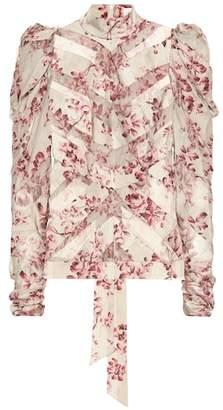Zimmermann Unbridled stretch silk blouse