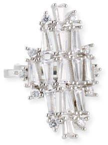 Fallon Monarch Deco Vertical Crystal Ring