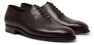 J.M. Weston - Remi Whole-Cut Leather Oxford Shoes - Men - Dark brown