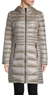 Calvin Klein THE COAT EDIT Packable Hooded Down Jacket