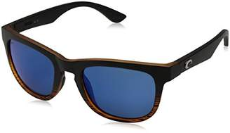 Costa del Mar Women's Copra Polarized Iridium Wayfarer Sunglasses