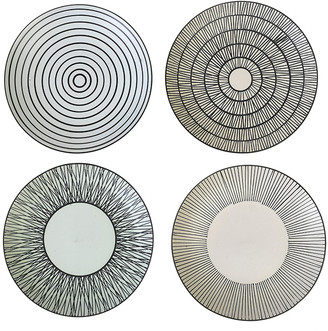 Pols Potten Afresh Pastel Plates - Set of 4 - Large