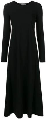 Y-3 long flared dress