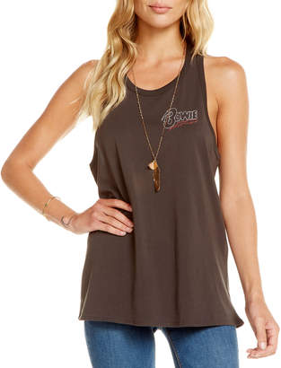 Chaser Bowie Embroidered Tank