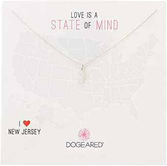 Dogeared State of Mind Montana -Plated Sterling Silver Chain Necklace