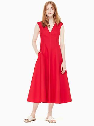 Kate Spade Structured midi dress