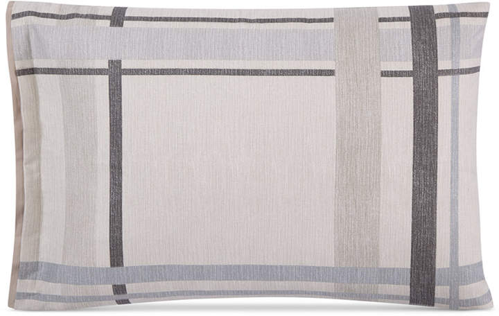 Modern Plaid King Shams, Set of 2, Created for Macy's Bedding