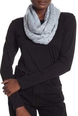 Portolano Infinity Silk & Cashmere Blend Loop Scarf