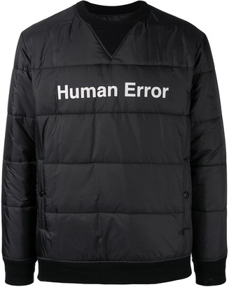 Undercover pull-over padded jacket