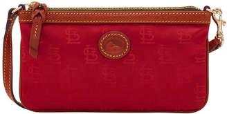 Dooney & Bourke St. Louis Cardinals Embossed Nylon Large Wristlet