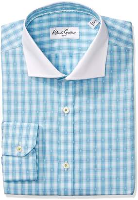 Robert Graham Men's Classic Fit Check Dot Dress Shirt