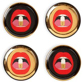 Jonathan Adler Full Dose Coasters/Set of 4