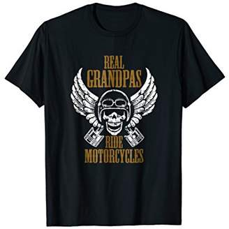 Real Grandpas Ride Motorcycles: Funny Biker Granddad T-Shirt