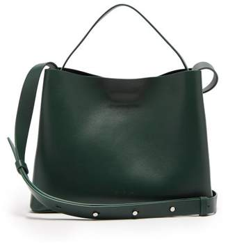 Aesther Ekme - Mini Sac Leather Tote - Womens - Dark Green