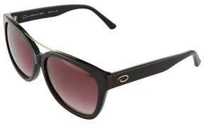 Oscar de la Renta O By Oversized Rectangle Acetate Sunglasses