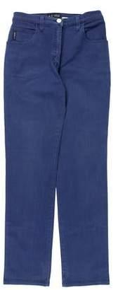 Armani Jeans Armani Collezioni Mid-Rise Straight-Leg Jeans