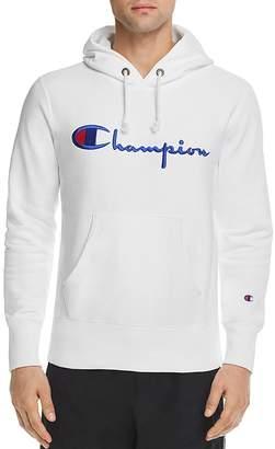 Champion Reverse Weave Script Logo Hooded Sweatshirt