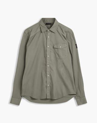 Belstaff Steadway Long Sleeve Shirt Green