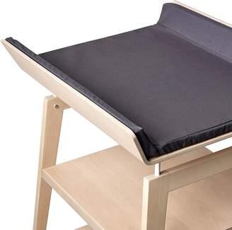 Linea Leander Leander Change Table Mat Cover, Dark Grey