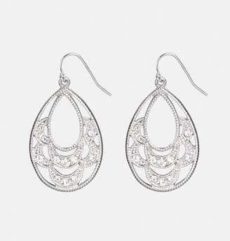Avenue Sparkle Filigree Earrings