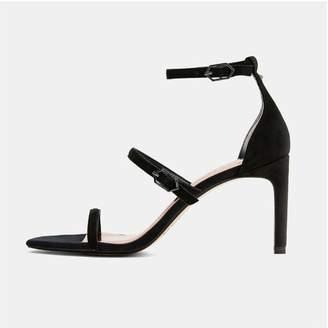 Ted Baker Black Strap Sandal