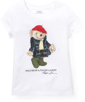 Ralph Lauren Kids Wellie Bear Cotton T-Shirt