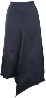 Tibi asymmetric draped skirt