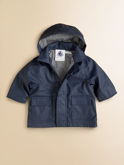 Petit Bateau Toddler's Rain Jacket