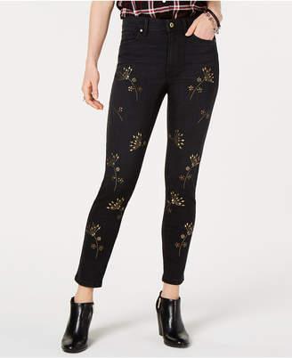 Tommy Hilfiger Tribeca Embellished Skinny Jeans