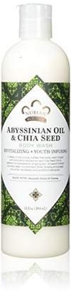 Nubian Heritage Abyssinian Oil & Chia Seed Body Wash