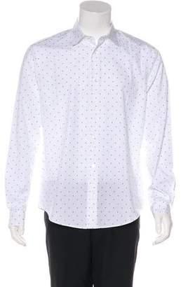 Louis Vuitton Patterned Print Button-Up Shirt