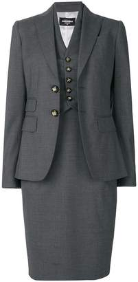 DSQUARED2 classic skirt suit