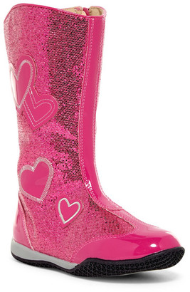 W6YZ by Naturino Patsy Heart Boot (Toddler & Little Kid) $29.97 thestylecure.com