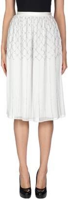 Needle & Thread 3/4 length skirts