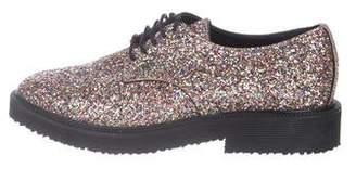 Giuseppe Zanotti x G-Dragon Glitter Derby Shoes