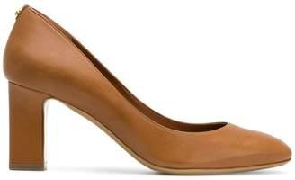 Salvatore Ferragamo block heeled pumps
