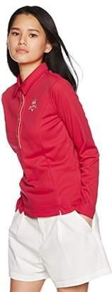 Callaway (キャロウェイ) - (キャロウェイ アパレル) Callaway Apparel 軽量 長袖 ポロシャツ (軽イシ : 保温性) ゴルフウェア / 241-7256803 [ レディース ] 241-7256803 91 ピンク S