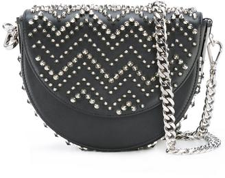 Philipp Plein curved spike stud bag $1,286 thestylecure.com
