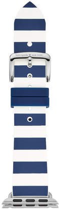 Kate Spade Navy & White Striped Silicone Apple Watch Strap