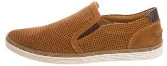 Donald J Pliner Suede Perforated Sneakers w/ Tags