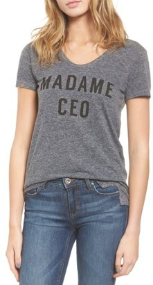 Women's Sundry Madame Ceo Tee $68 thestylecure.com